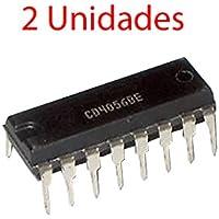 2x Decodificador CD4056BE de BCD a 7 segmentos Integrado CD 4056 Driver DIP16