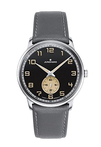 Junghans Meister Women's Watch Analogue Leather Grey 027-3607.00
