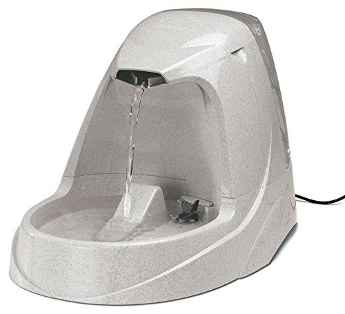 PetSafe Drinkwell Trinkbrunnen Platinum, 5 Liter, BPA frei, organischer Filter, leise, rutschfest, Wasserbrunnen für Hunde und Katzen