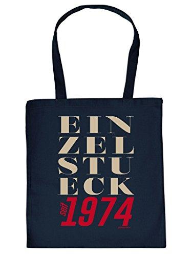 Geburtstag Sackerl ::: Einzelstück seit 1974 ::: lustige Geburtstags-Tasche