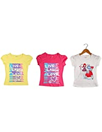 Poppers By Pantaloons Girl's T-Shirt