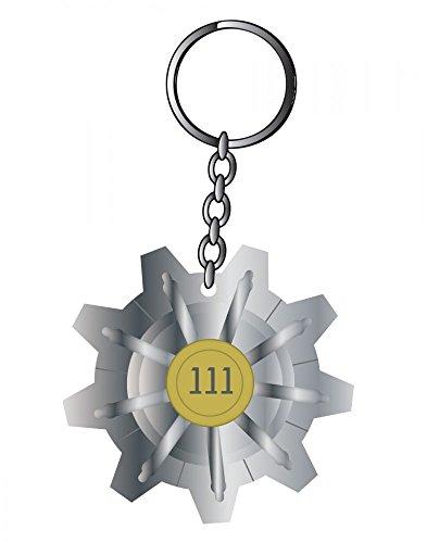 Fallout - Vault 111 - Schlüsselanhänger Keychain | Original Bethesda | Vaultech Merchandise | RPG