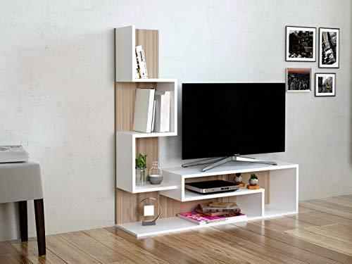 Mimosa set soggiorno parete attrezzata mobile tv porta con