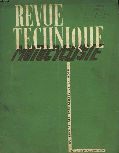 Rmt- Revues Techniques Moto - 125 350 500 Revue Technique moto Ajs Puch Etat - Bon Etat Occasion par (Broché - Feb 1, 1949)