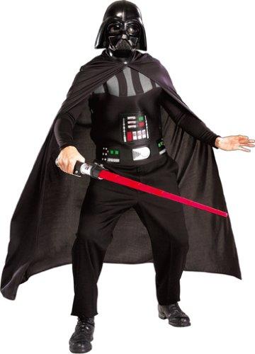 Darth Vader Kostüm Erwachsen Grösse M + L  -  Star Wars