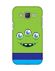 Mobifry Back case cover for Samsung Galaxy J2 Mobile ( Printed design)