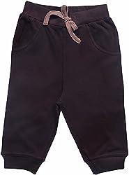 Bio Kid Baby Boys 0-3 Months Cotton Pants (Bti-217-62, Dark Brown, 0-3 Months)