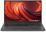 "ASUS VivoBook 15 Thin and Light Laptop, 15.6"" Full HD, AMD Ryzen CPU, DDR4 RAM, SSD, AMD Radeon Vega 8 Graphic"