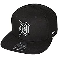 finest selection 6c5e2 ca027 47Brand MLB Baseball Detroit Tigers Snapback Cap Black – Fan Merchandise  One ...