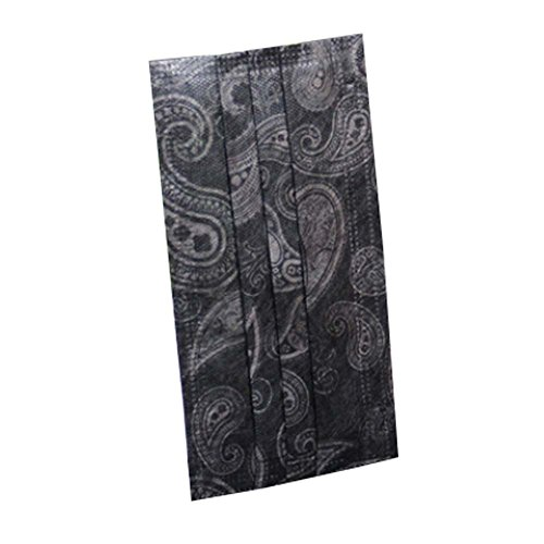 Totem Drucken (10 Stück Einweg-Totem-Drucken-Schwarz-Farbe staubdicht Maske für Erwachsene)