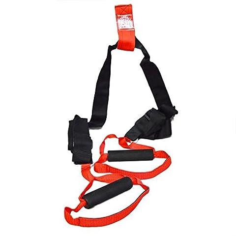 FHX Total Poids Système de suspension Trainer Noir/rouge