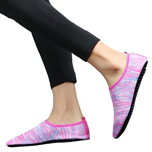 Malloom® Männer und Frauen Paar Modelle Tauchen Socken Schwimmen Socken Strand Socken Schuhe Schnorcheln Schuhe Schwimmen Schuhe Yoga Schuhe Tarnung Blau Lila (38, Lila)
