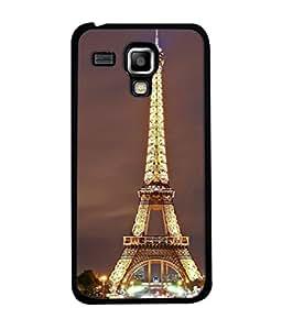 PrintVisa Designer Back Case Cover for Samsung Galaxy S3 Mini I8190 :: Samsung I8190 Galaxy S Iii Mini :: Samsung I8190N Galaxy S Iii Mini (Eiffel Tower Shining With Lights)