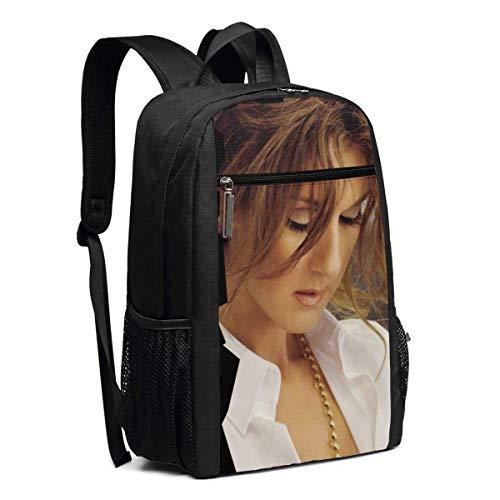 Zaino scuola, Travel Hiking Celine Dion My Love Backpacks Waterproof Big Student College High School Laptop Shoulder Bag Outdoor Backpacks For Men Women Adults