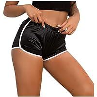 Pantalones de chándal de Yoga   Moda para Mujer Pure Color Fitness Running Easy Yoga Pants Shorts S - XXL