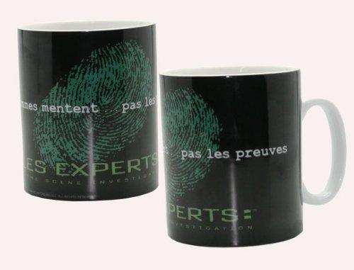 LES EXPERTS - Mug porcl. grand format ac boîte