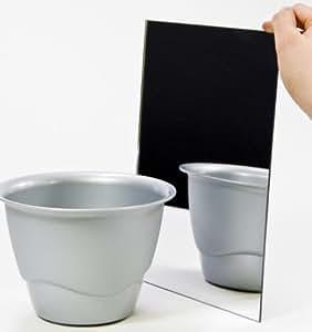 acryl spiegel plexiglas spiegel 3mm xt 25 x 25 cm baumarkt. Black Bedroom Furniture Sets. Home Design Ideas