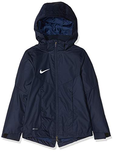 Nike Kinder Academy18 Regenjacke, Blau (obsidian/Obsidian/White), L