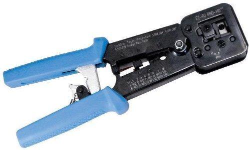 Platinum Tools 100054C Clamshell EZ-RJPRO HD Crimp Tool (2) by Platinum Tools