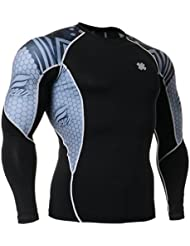 Fixgear Homme Femme Skin Cycling Base Layer Tight Tee Shirt Top Gear