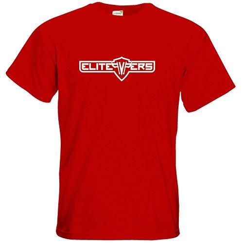 getshirts - elitepvpers Merchandise - T-Shirt - Elitepvpers White Red