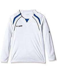 Jako Trikot Wembley LA - Guantes de fútbol sala, color blanco/azul, talla
