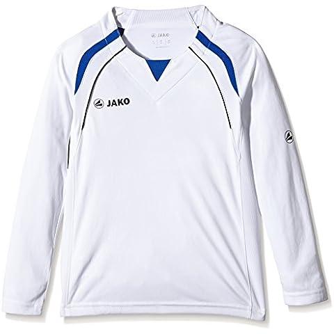 Jako Trikot Wembley LA - Camiseta de equipación deportiva para niño multicolor blanco y azul