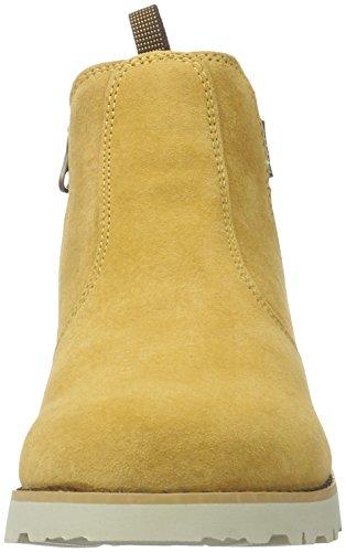 Viking Unisex-Kinder Loekka Chelsea Boots Gelb (Mustard/Dark Brown 4318)