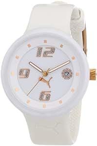 Puma Time - A.PU910672002 - Montre Femme - Quartz - Analogique - Bracelet Résine Blanche
