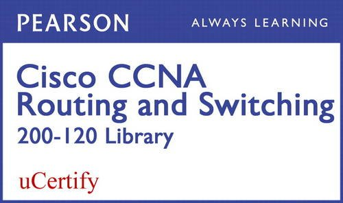 CCNA R&S 200-120 Pearson uCertify Course Student Access Card (Official Cert Guide) por Wendell Odom