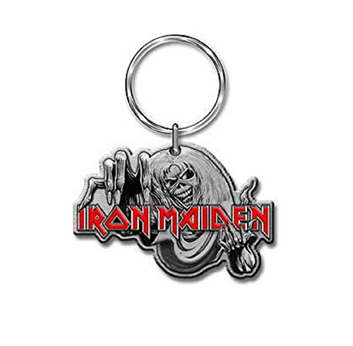 Image of Iron Maiden The number of the beast Keyring Standard
