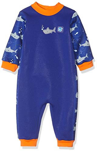 Splash about warm in one, muta subacquea unisex bambini, shark orange, 6-12 mesi