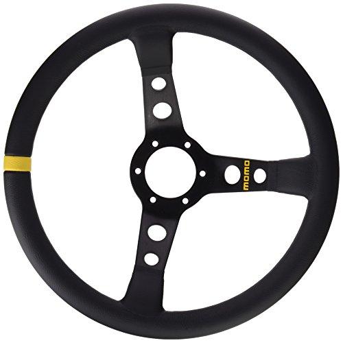 Momo 11111811312 Volante Steering Wheel 07.350 mm Lisa Black Skin