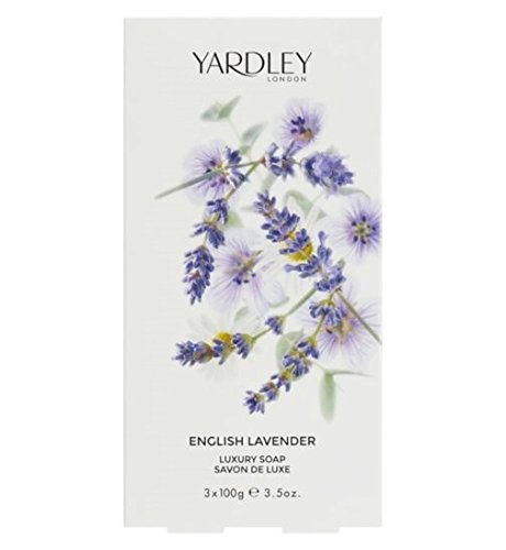 Londra Yardley English Lavender Luxury 3 x 100 g