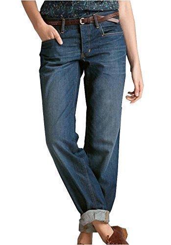 Jeans boyfriend femmes de Eddie Bauer héritage Wash