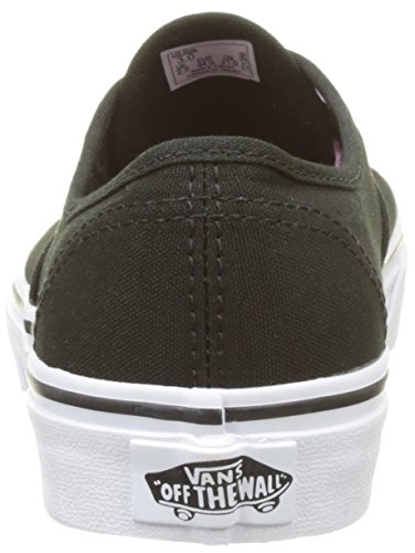 Vans Uy Authentic, Scarpe da Ginnastica Basse Bambina Nero (Hidden Kittens Black/true White)