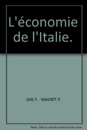 L'économie de l'Italie