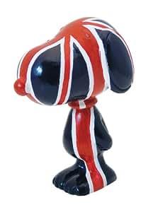 figurine snoppy imprim avec le drapeau du royaume uni jeux et jouets. Black Bedroom Furniture Sets. Home Design Ideas