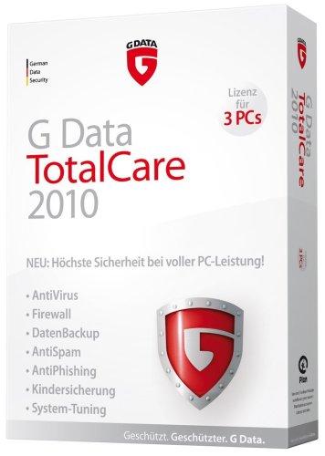 G Data TotalCare 2010 3PC