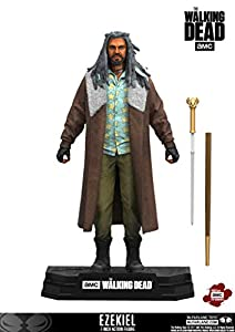 "Walking Dead 14681"" TV 2017 Series 1 Ezekiel Figura de acción, Multicolor"