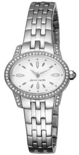 Pierre Cardin Damen-Armbanduhr Charme Analog Quarz Edelstahl PC104202F05