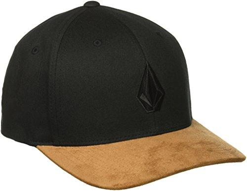 Volcom Herren Full Stone Hthr Xfit Schwarz Cap-Flexfit, Mud, L/XL (Flexfit Mützen Für Herren Volcom)