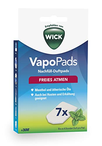 Wick VapoPads Menthol WH7 - Einfach Duft Inhalator