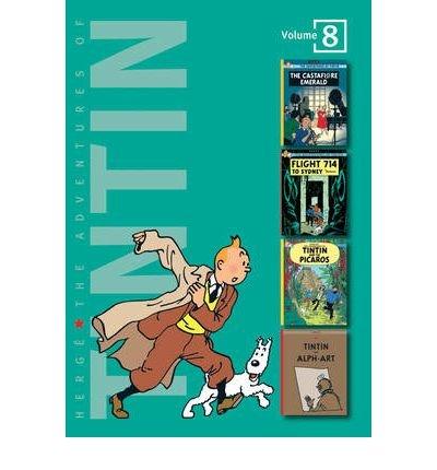 "[(The Adventures of Tintin: ""The Castafiore Emerald"", ""Flight 714 to S"