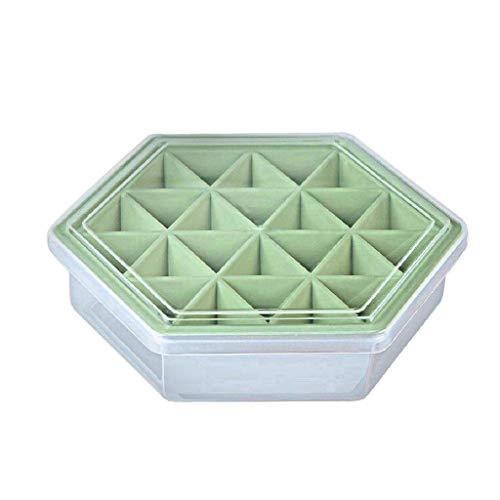 Y56(TM) Eisformen Tray Backstein Quadrat Whisky Würfel Eisblock Maker Sphere Mold Küche Party (Grün)