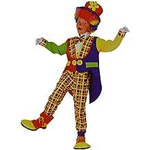 Disfraz de Payaso para niños y niñas (CLWN-01) 4 a 6 años