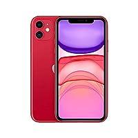 Apple iPhone 11 Akıllı Telefon, 256 GB, Kırmızı