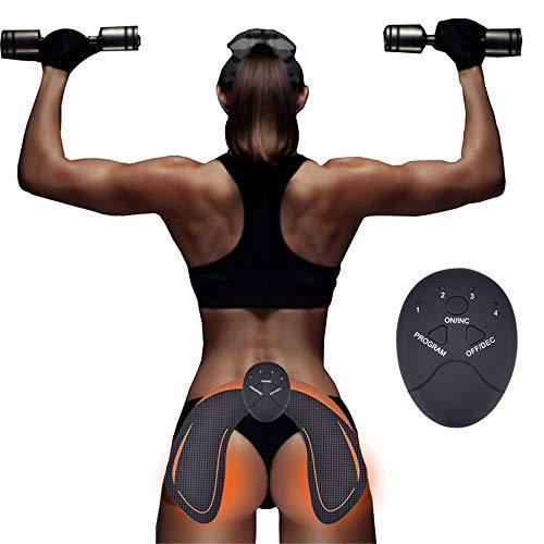 WODT Entrenador de Caderas eléctrico, estimulador Muscular, Entrenador de tóner para glúteos...