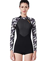 fbe8a33ab330d Amazon.es  bañadores mujer natacion - Trajes de buceo   Buceo y ...