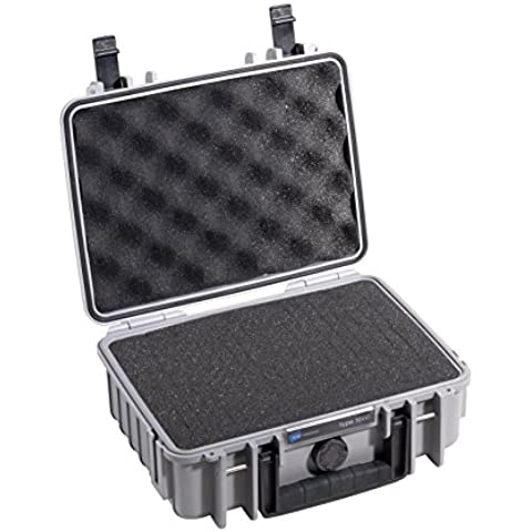 B&W Cases Props-On - Maletín de seguridad para DJI Phantom 2 y Vision Plus, color gris